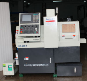 Swiss Type CNC Automatic Lathe Dual Spindles Sz20c2 pictures & photos
