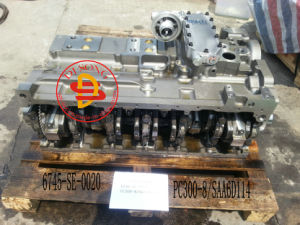 Komatsu Excavator Cylinder Block Assy Engine Part(PC300-8/SAA6d114 pictures & photos