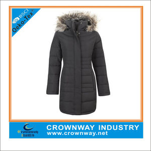 Cool Black Padded Jacket for Women pictures & photos