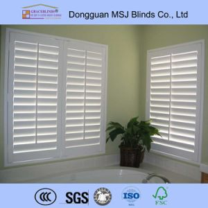Plantation Shutters for Sliding Glass Doors Window Shutters pictures & photos