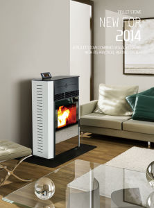 Modern Automatic Feeding Wood Pellet Stoves (CR-08) pictures & photos