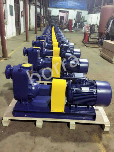 Self-Priming Electric Sewage Trash Centrifugal Water Pump pictures & photos