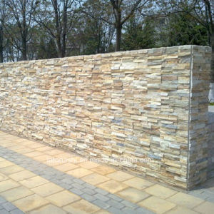 Beige Cladding Stone for Wall Cutural pictures & photos