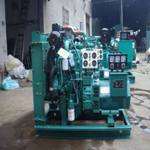 Low Fuel Consumption AC Three Phase Harmonic Excitation 100kVA Diesel Generator pictures & photos