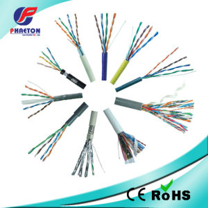 305m/Box UPT Cat5e Data LAN Network Cable pictures & photos