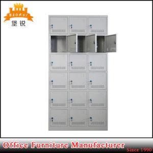 18 Doors Metal Furniture Sports Gym Clothing Storage Cabinet Locker pictures & photos