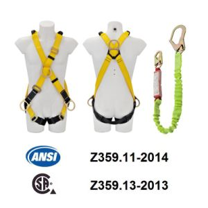 ANSI Full Body Harness (JE146026+JE311237Y) pictures & photos