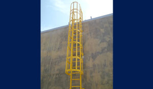 FRP Ladder, GRP Ladders, Ladders, Diret Ladder, Handrail with Ladder, Fiberglass Ladder pictures & photos