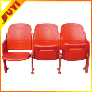 Blm-4361 Fixed on Floor Folding Stadium Seats with Cushion Soccer Field Sport Gym Stadium Plastic Seats for Stadium pictures & photos