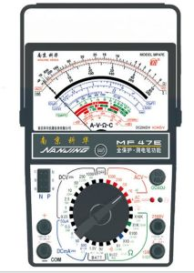 High Quality Analog Multimeter (MF47E) with ISO Certified pictures & photos