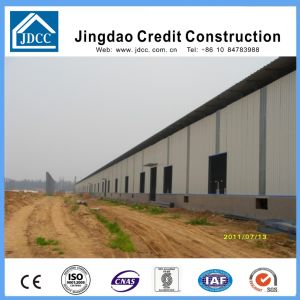 Color Steel Plate Wall and Roof Steel Structure Workshop pictures & photos