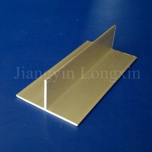 Anodized T-Shape Aluminum Profile Widely Used pictures & photos