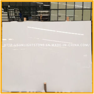 Calacatta White Artificial Quartz Stone Kitchen Flooring pictures & photos