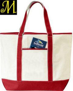 Wholesale Custom Cotton Canvas Tote Handbag Bag pictures & photos