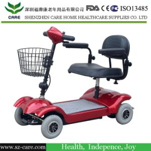 4 Wheel Handicapped 2 Seat Electric Mobility Scooter pictures & photos