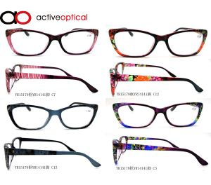 2015 Popular Style Pattern Colorful Reading Glasses (yf15179)