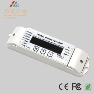 5-24VDC DMX512 Signal Into Multiple Chip Number 6803/8806/2811/2801/3001/9813 LED Driver pictures & photos