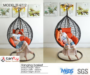 Modern Style Outdoor Comfortable Golden Garden Swings Chair for Adult pictures & photos