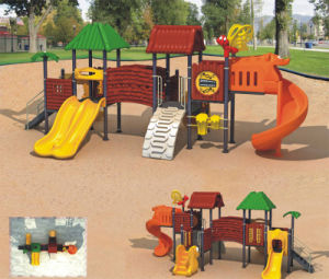 Kaiqi Medium Sized Treehouse Themed Commercial Playground Equipment for Kids (KQ9044A) pictures & photos