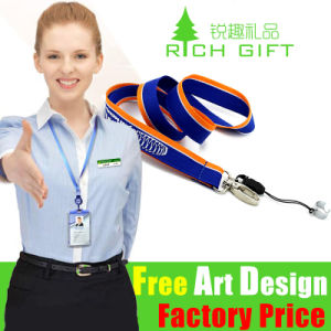 Factory Price UK Customed Full Color Printing Lanyard pictures & photos
