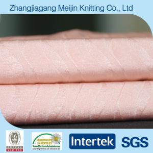 Nylon Spandex Jacquard Strecth Elastic Fabric for Lingerie (MJ5011)