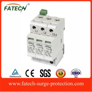China 3phase 320v lightning equipment classII surge protective device spd with CE-LVD pictures & photos