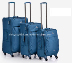 High Quality Wheeled Trolley Trave Luggage Suitcase Bag Case (CY3401) pictures & photos