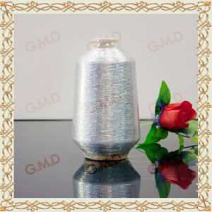 Mx Type Silver Metallic Yarn for Embroidery