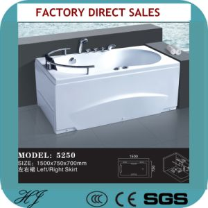 Classic Acrylicsanitary Ware Water Massage Bathtub (5250) pictures & photos