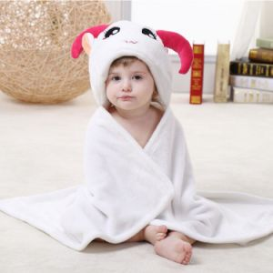 Infant Flannel Blanket / Animal Shapes 3D Stereoscopic Cloak/Sheep pictures & photos