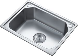 Kitchen Stainless Steel Single Bowl Sink (5239y) pictures & photos