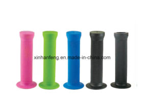 Rubber Lower Price Bicycle Grips for Mountain Bike (HGP-028) pictures & photos