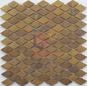 Metal Style Wave Shape Copper Made Mosaic (CFM976) pictures & photos