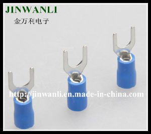 Svl5.5-4 Insulated Fork Type Terminals Male Female Terminal Lugs pictures & photos