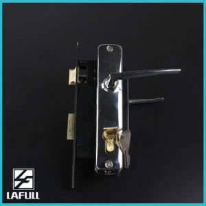 310 High Quality Zinc Alloy Cylinder Security Door Handle Lock pictures & photos