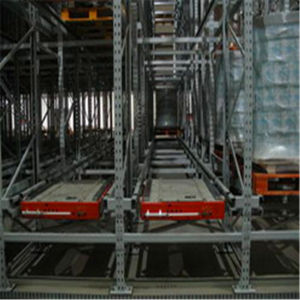 Heavy Duty Selective Adjustable Radio Shuttle Pallet Racking System for Warehouse pictures & photos