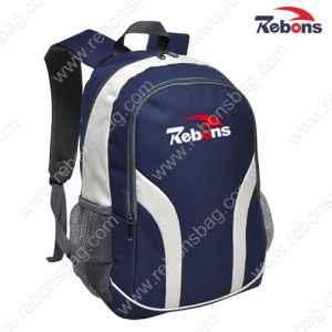 Promotional 600d Vinyl Customized Logo Plain Satchel Backpacks pictures & photos