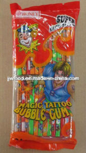 Jjw 5g Stick Fruit Big Tattoo Energy Bubble Chewing Gum pictures & photos
