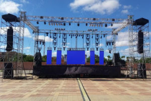 P6.25 Outdoor Full Color LED Display for Stage/Event Background pictures & photos