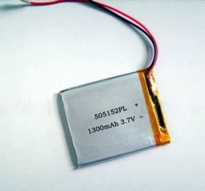 3.7V 1300mAh Lithium Polymer Rechargeable Battery pictures & photos