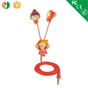 China Wholesale Cute Cartoon Earphones for Girls pictures & photos