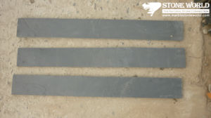 Black Slate Tiles for Wall/Flooring (mm098) pictures & photos