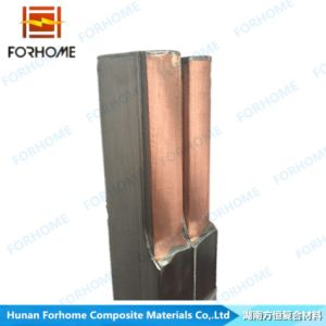 Explosion Welded Bimetal Stainless Steel-Copper Clad Hanger Bar pictures & photos