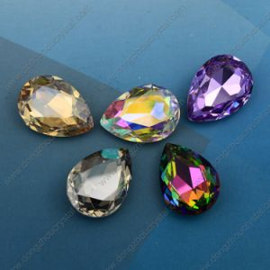 Hotsale Point Back Polish Crystal Beads Rhinestones (DZ-3003) pictures & photos