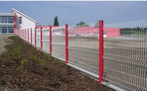 Cheap Fold PVC Coated Welded Wire Mesh Fence Panel pictures & photos