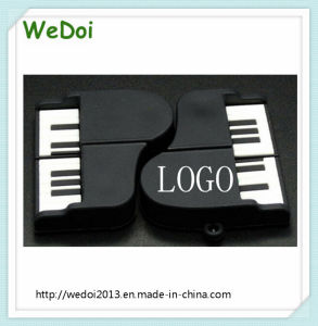 Customized PVC Piano USB Flash Drive Pendrive (WY-PV91) pictures & photos