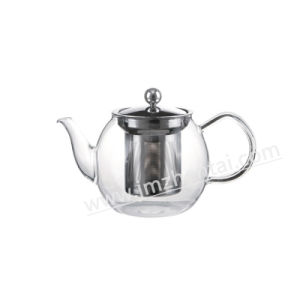 Wholesale Glass Teapot with Infuser pictures & photos