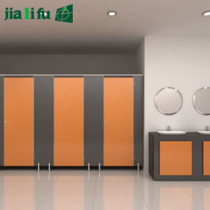 Jialifu Compact Laminate Kindergarten Toilet Cubicles pictures & photos