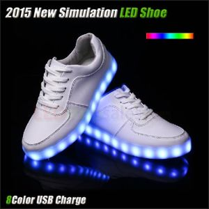 Hot Sale LED Shoes with USB Charge pictures & photos