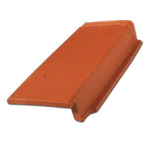 Dark Color Roof Tile Water Proof Clay Tile Interlocking Roof Tile (R1-W57) pictures & photos